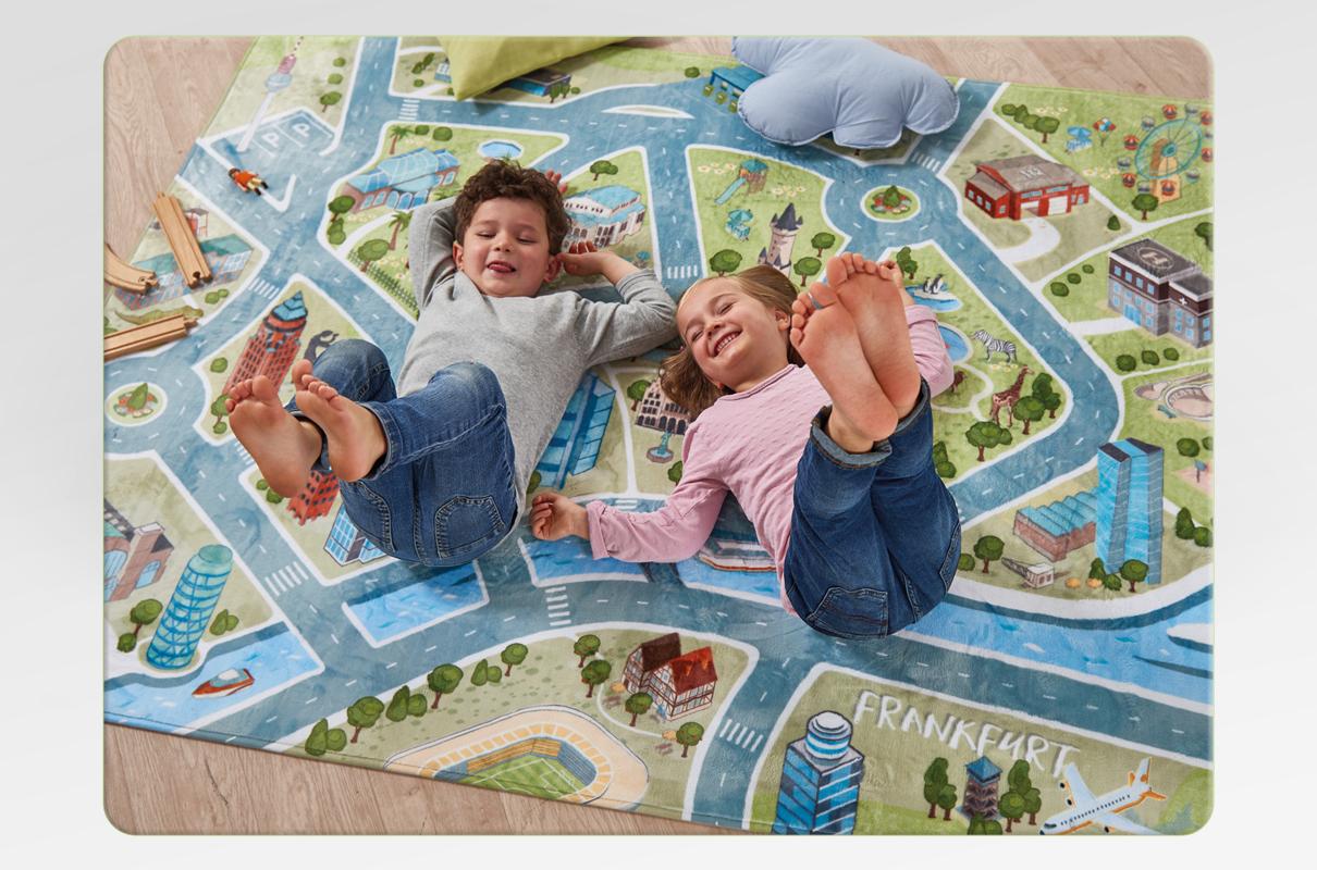 Kinderspielteppich Frankfurt